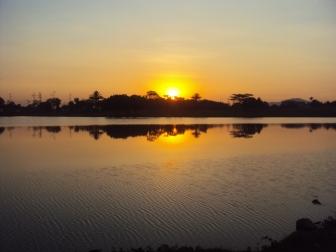 Nascer do sol - Lago da Rural